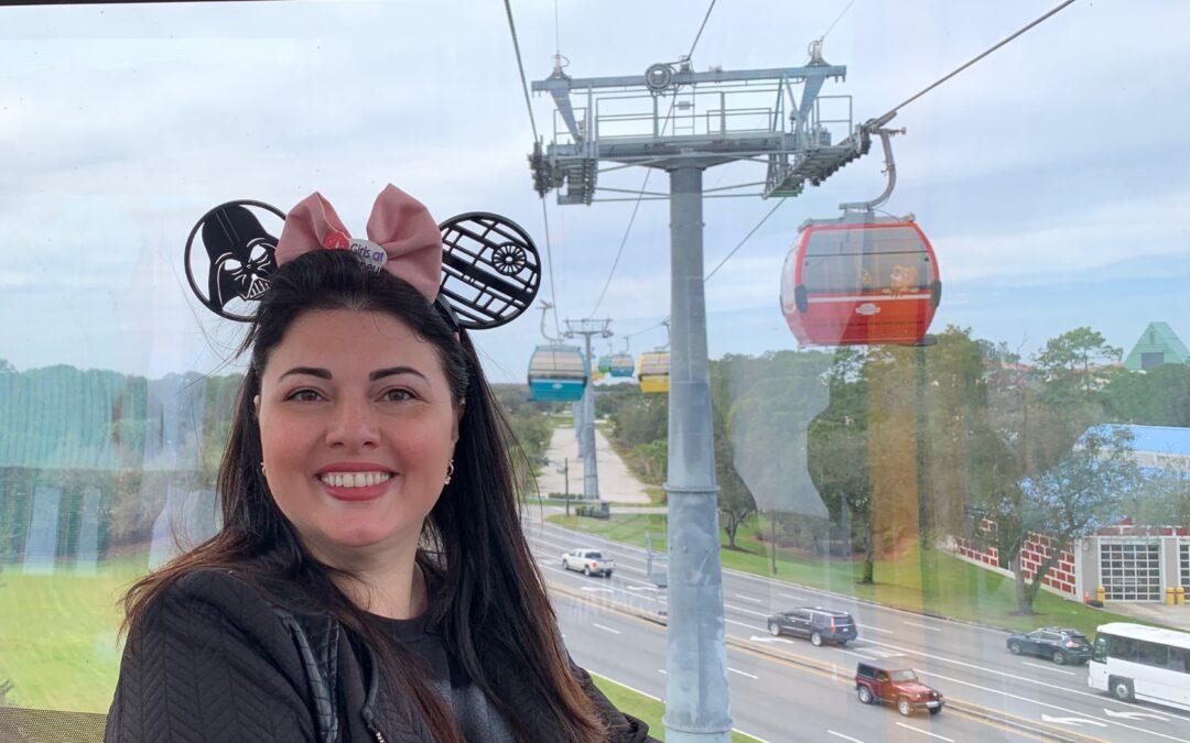 Disney Skyliner – O teleférico da Disney