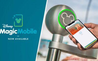 Disney MagicMobile – Salve seus ingressos em seu smartphone