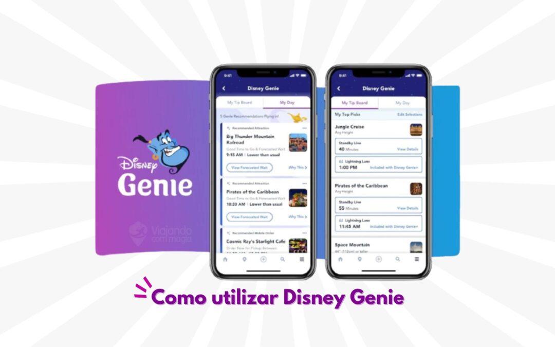 Como utilizar a nova ferramenta Disney Genie